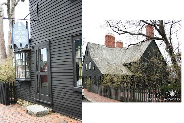 My Travel Background : Halloween à Salem - The House of the Seven Gables, la Maison des Sept Pignons