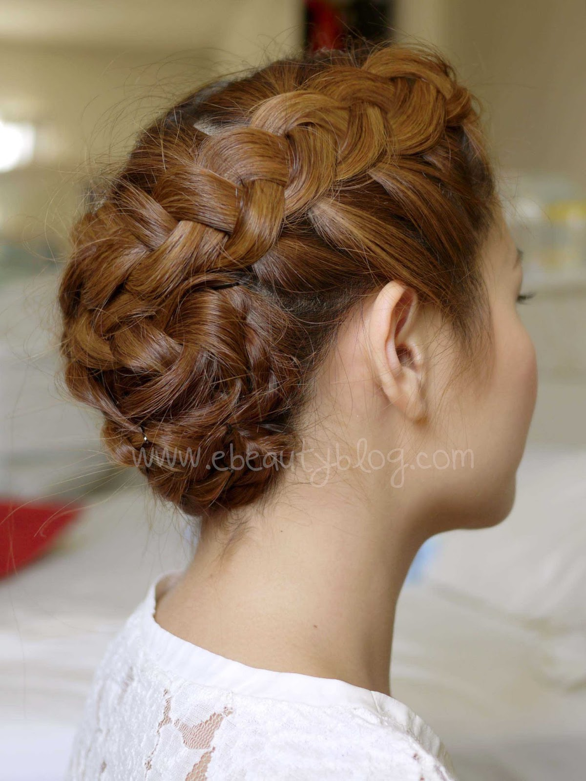 EbeautyBlog.com: Hair Tutorial: Summer Braided Updo