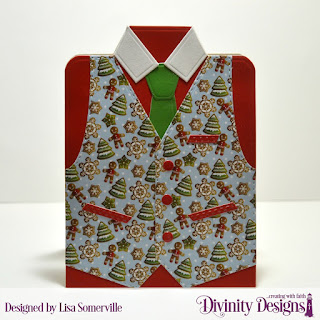 Divinity Designs Custom Dies: Couture Collection, Paper Collection: Very Merry