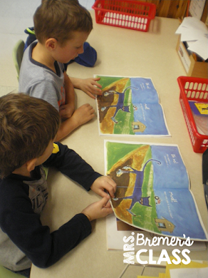 Kindergarten literacy center ideas and activities