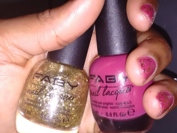 Blogmas Day 19: Faby Christmas Nails!
