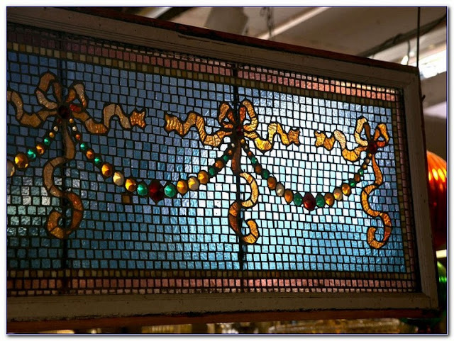 Mosaic GLASS WINDOW Art patterns for sale