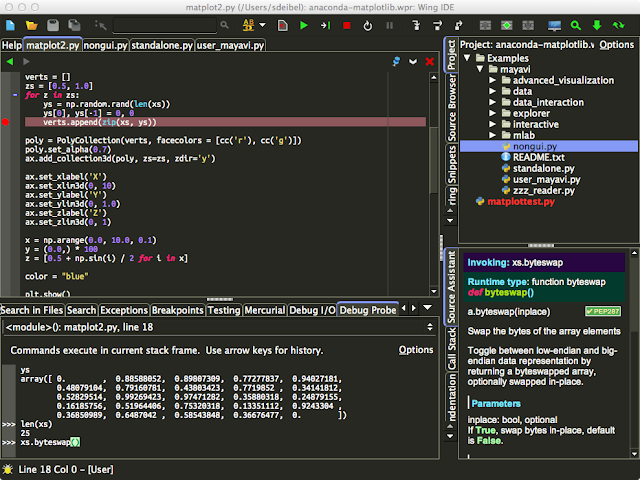 Wing IDE para Python