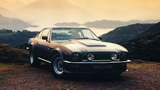 1977 Aston Martin V8 Vantage Front Picture