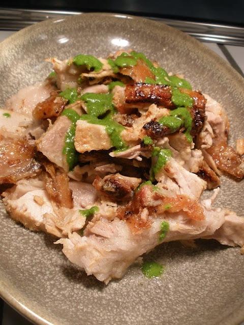 Southgate, Spit-roast pork at Hophaus