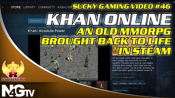 Khan Online, An Old MMORPG Brought To Life In STEAM