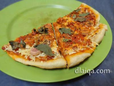 Pizza Darurat (Non Oven) ala Rika