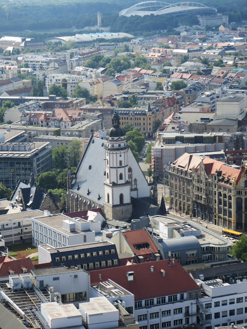 Things to do in Leipzig in 1 day: Climb City-Hochhaus for stunning views