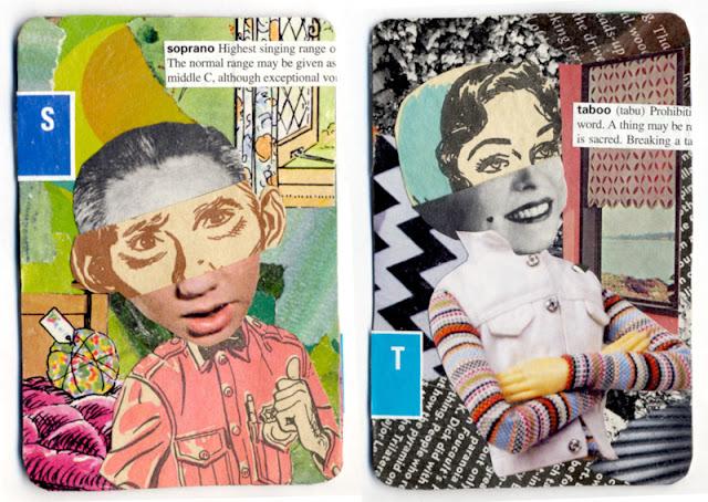collages by C. Mazzie-Ballheim