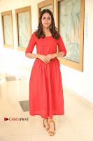 Actress Lavanya Tripathi Latest Pos in Red Dress at Radha Movie Success Meet .COM 0020.JPG