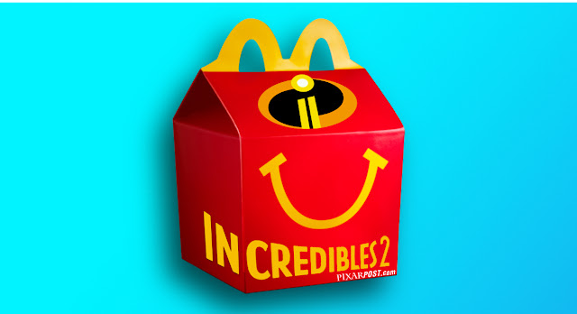 Incredibles 2 McDonald's Happy Meal Toys