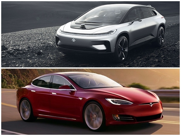Comparativa Faraday Future FF91 vs Tesla Model S P100D