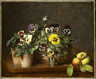 still-life with pansies 1874