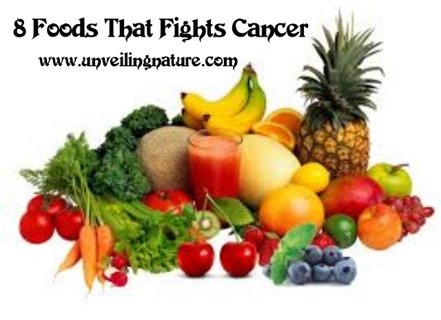 8 Foods That Helps To Fight Cancer You Should Eat