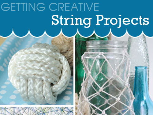 string projects getting creative