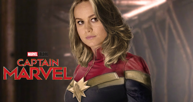 First Look From Set Photos Of Brie Larson's Captain Marvel In Her Costume