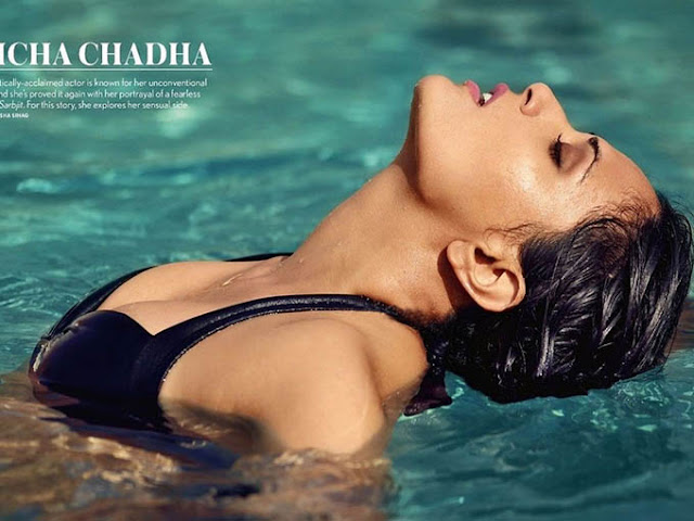 richa chadha seductive photo