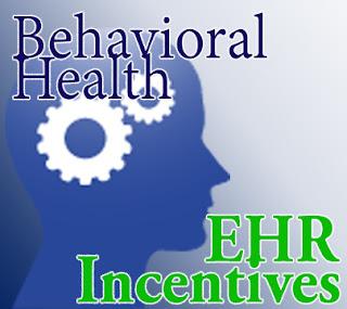 behavioral health ehr incentives