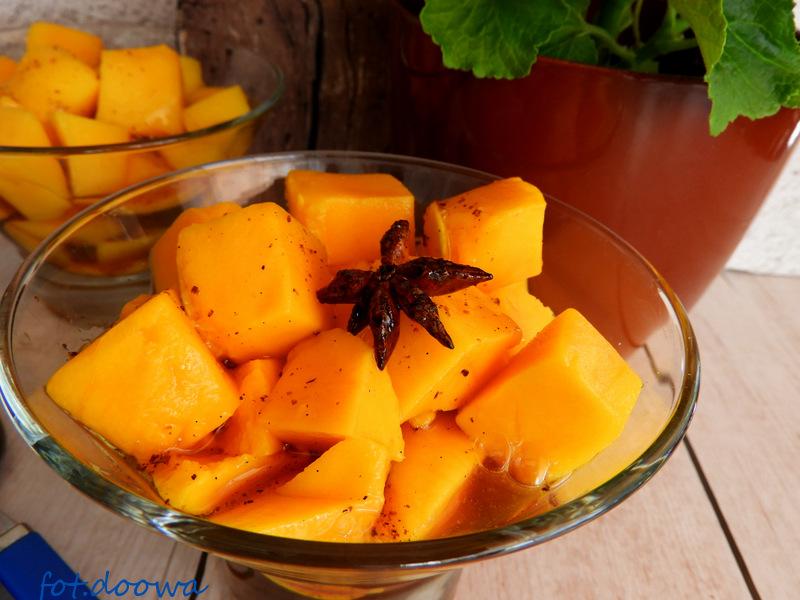 Mango W Syropie Z Wanilią I Limetką Moje Małe Czarowanie