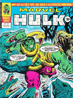 Mighty World of Marvel #230, incredible Hulk