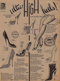 Vintage Frederick's of Hollywood Ad.