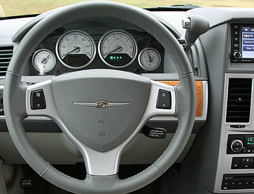 Note The Gear Shifter On Dashboard To Right Of Steering Wheel