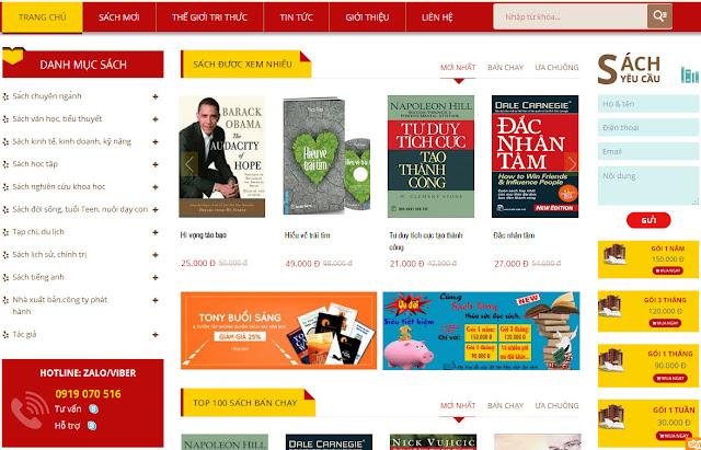 www.kenhraovat.com: Mua sách online - Nhận ưu đãi giảm giá hấp dẫn