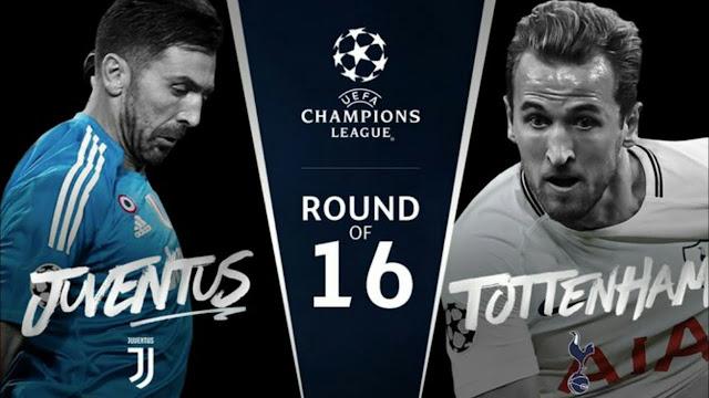 Prediksi Juventus vs Tottenham Hotspur, 13 Februari 2018
