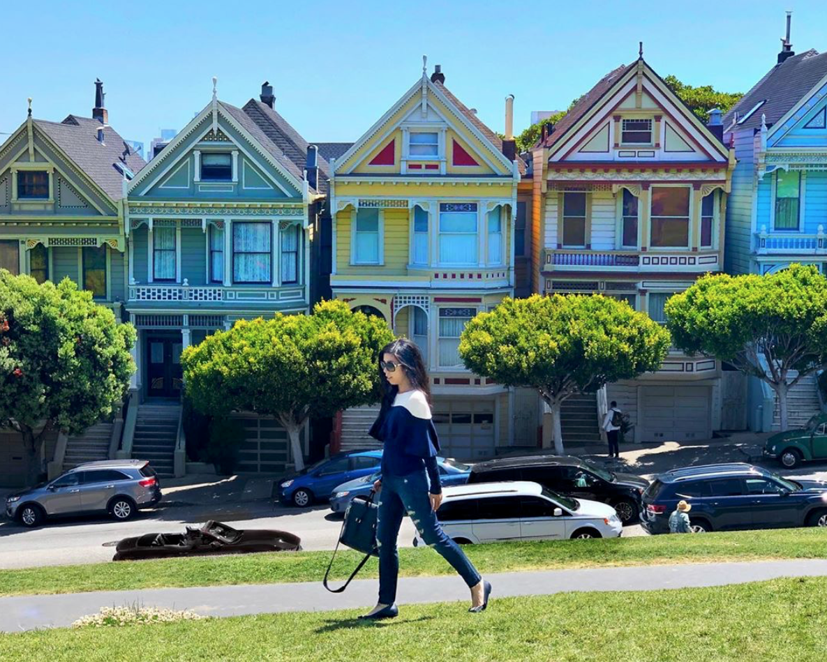 The Painted Ladies in San Francisco_Full House Homes in SF_What to do in San Fran_Adrienne Nguyen