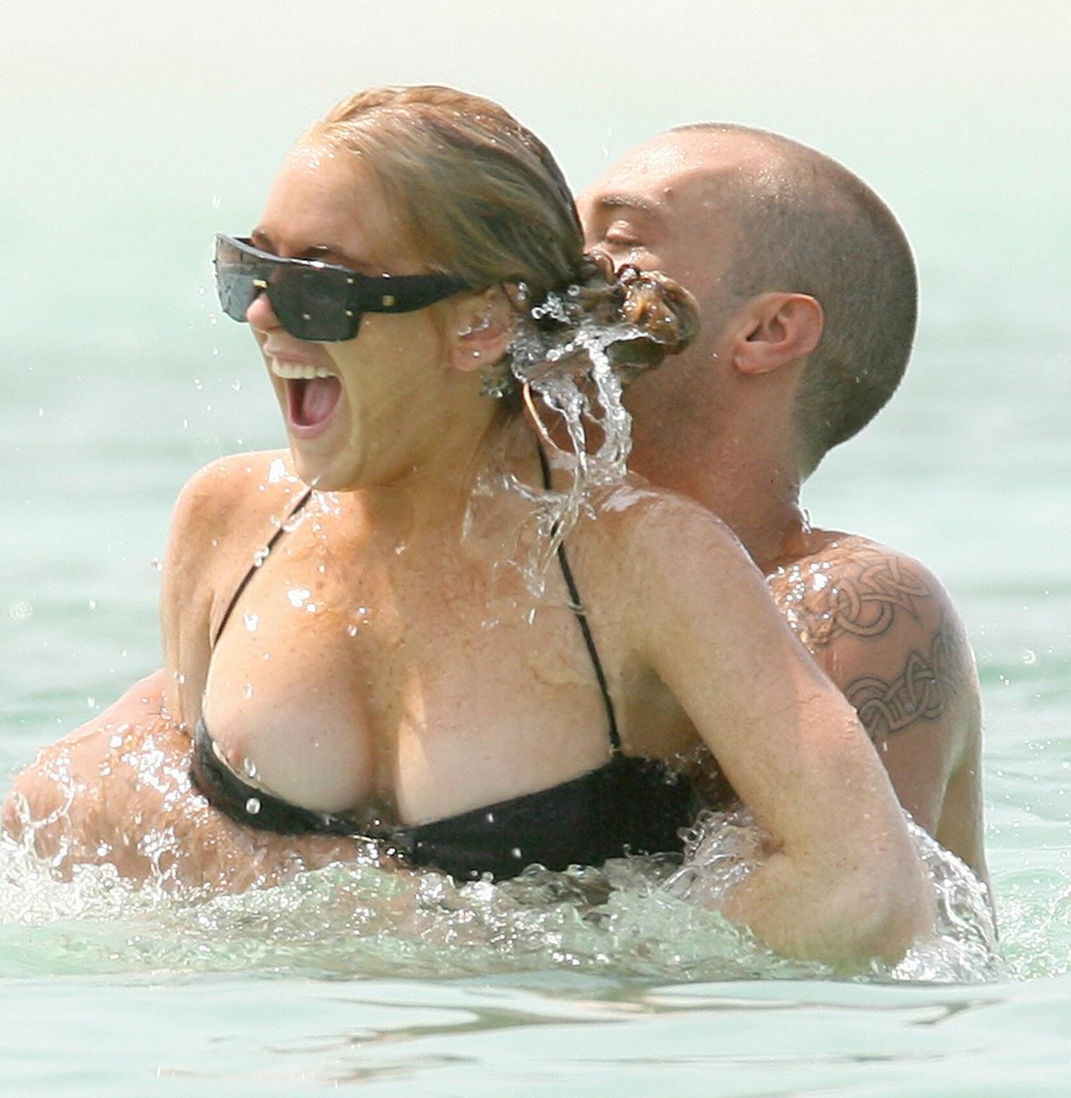 Have Lindsay lohan nipple slip opinion