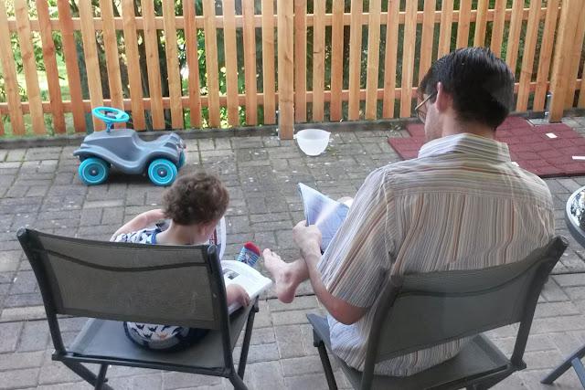 Gastbeitrag: Kommando-Übergabe - Der Papa in Elternzeit