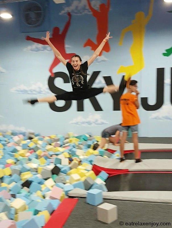 Sky Jump – Trampoline Park in Raanana
