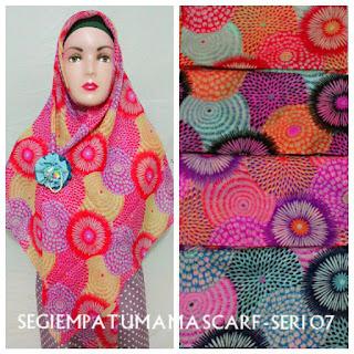 jilbab segi empat umama scarf seri 07