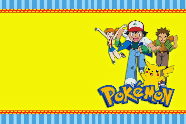 Free Printable Pokemon Birthday Invitation Card