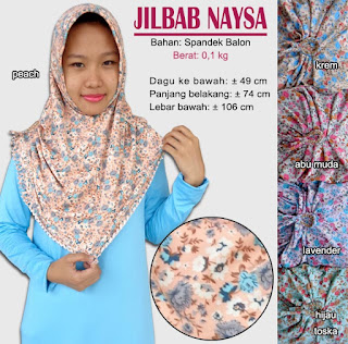 jilbab simple model cutting - naysa