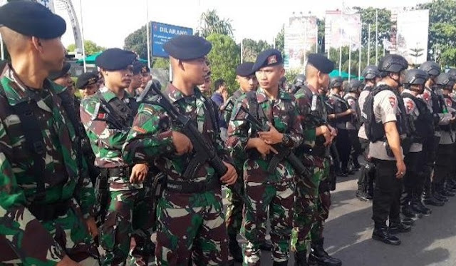 642 Personel TNI-Polri Akan Amankan Malam Natal di Ambon