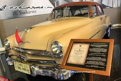 Mobil Ir. Soekarno, Presiden pertama Republik Indonesia.