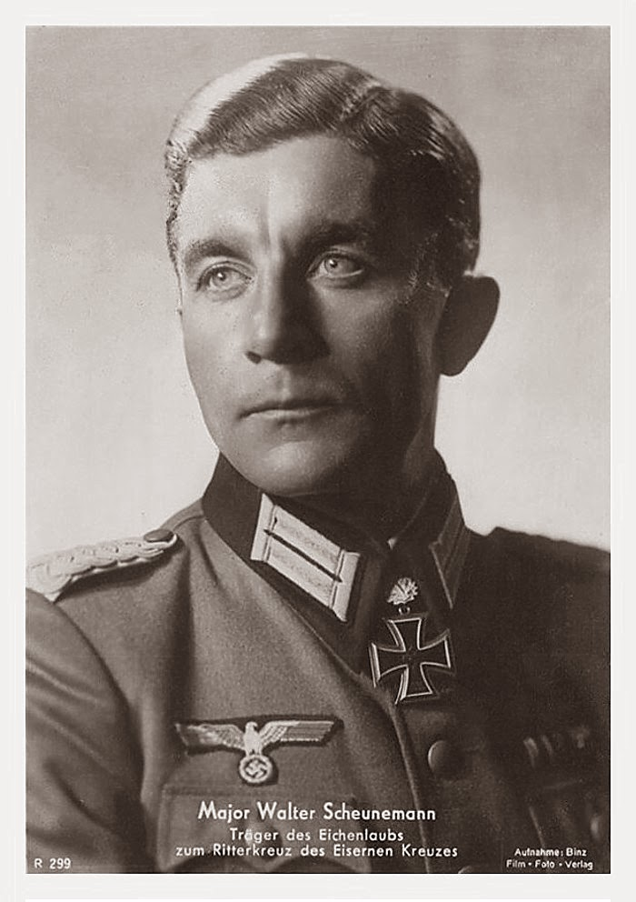 Walter Scheunemann Ritterkreuzträger Knight Cross Holder Postcard