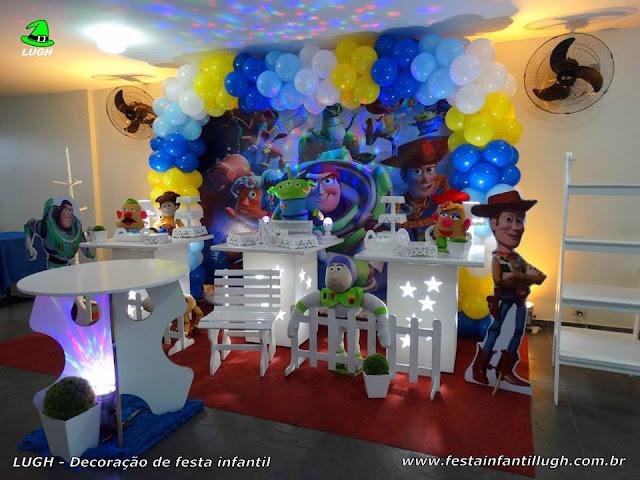 Decoração de festa Toy Story para aniversário infantil - Provençal simples