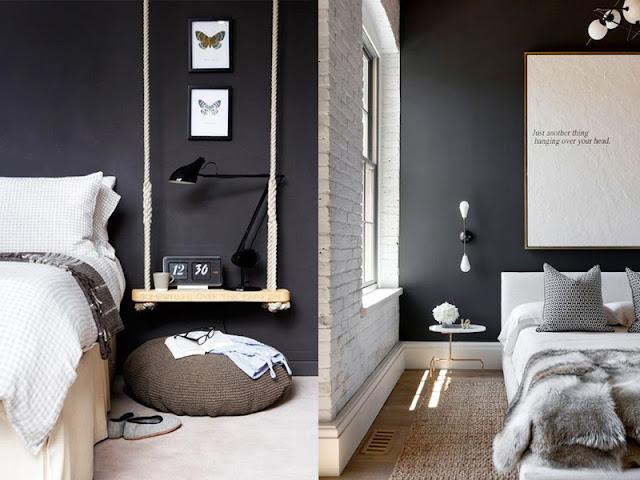 preto na decoração