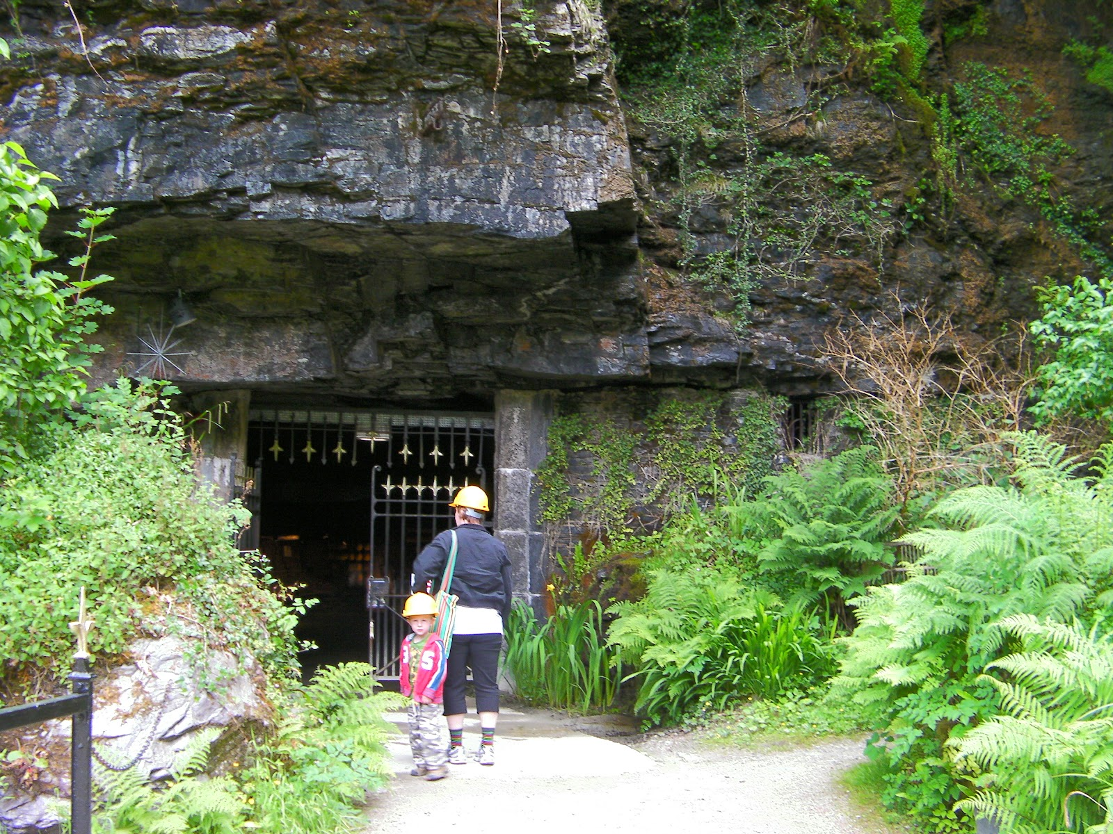slate mine cornwall tourist attraction