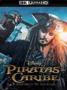 Piratas do Caribe – A Vingança de Salazar 2017 Torrent Download – BluRay 4K 2160p 5.1 Dublado / Dual Áudio