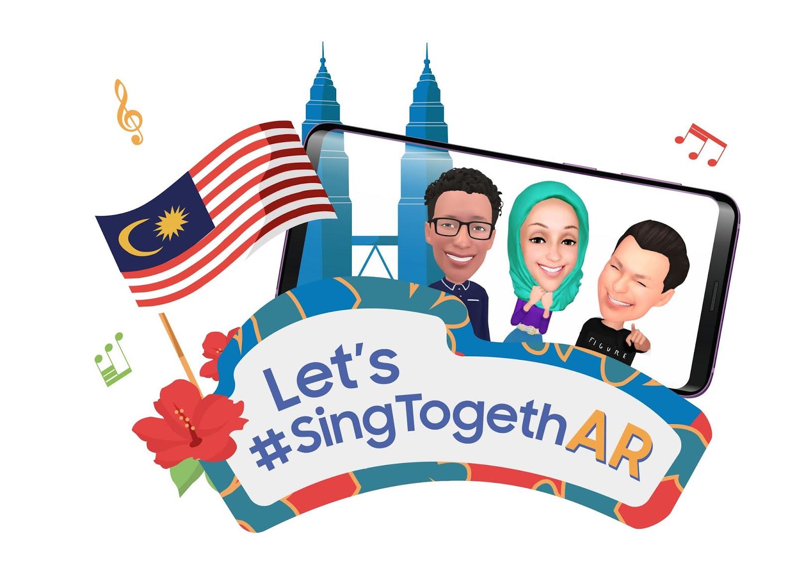 Sing 'Rasa Sayang' With The Samsung Galaxy S9 | S9+ #SingTogethAR
