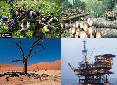 Resultado de imagen para Explotación de Recursos Naturales