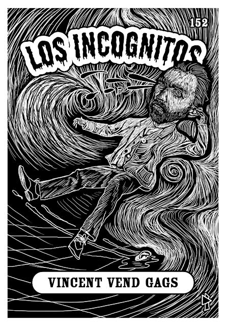 Vincent Van Gogh Los Incognitos Gwen Tomahawk