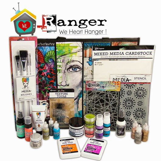 My Craft Channel: We HEART Ranger Ink!