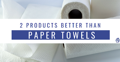 Green Cleaning: Paper Towel Alternatives