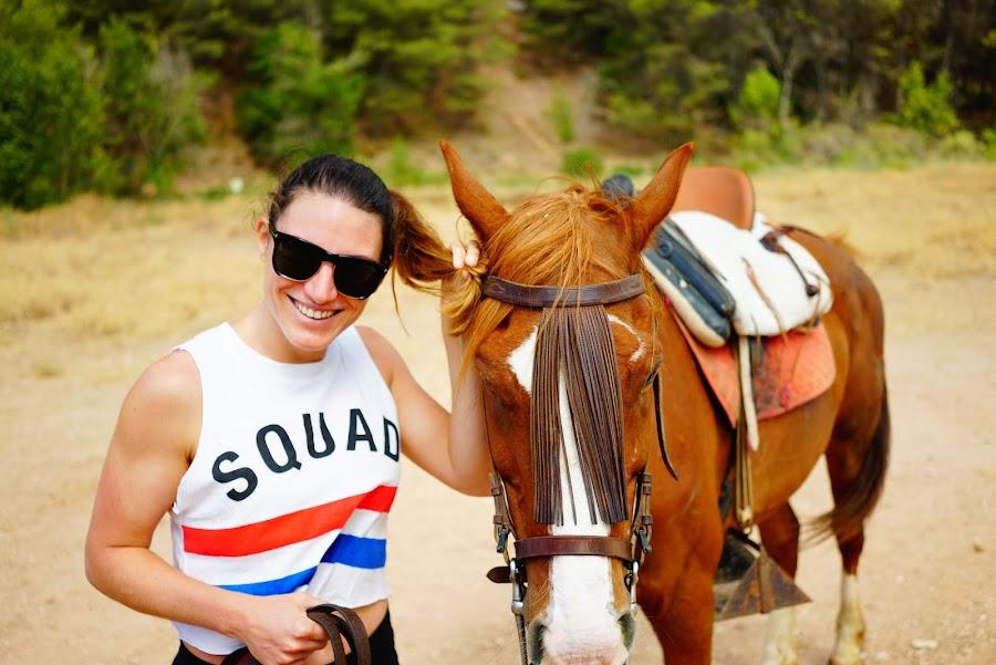 malaga horseriding in cortijo la rejertilla