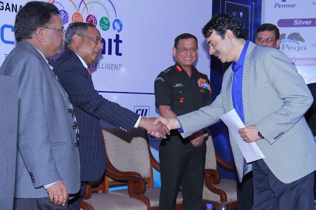 "Need indigenous solutions to fight Indian wars"" Says Lt Gen Subrata Saha at CII Telangana Tech Summit"