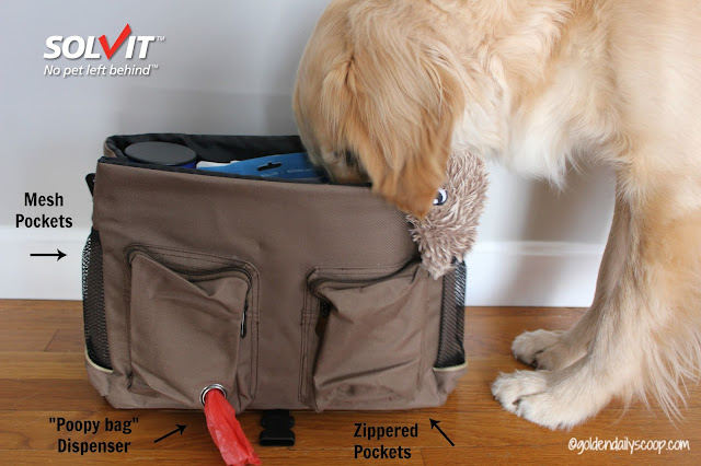 traveling with your pet, Solvit HomeAway Travel Organizer Kit Review and Giveaway